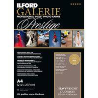 Für weitere Info hier klicken. Artikel: Ilford Druckerpapier GALERIE Prestige Heavyweight DUO Matt 50 Blatt A4