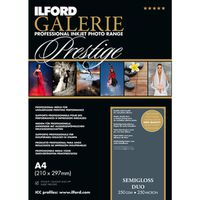 Für weitere Info hier klicken. Artikel: Ilford Druckerpapier GALERIE Prestige Semi Gloss Duo 25 Blatt A4