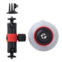 Für weitere Info hier klicken. Artikel: Joby Suction Cup & Locking Arm (Black-Red)