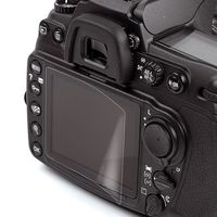 Kaiser Display-Schutzfolie Lumix TZ58, TZ 81, TZ 91, TZ 101, TZ202, FZ 72, Leica CL, C-Lux, Nikon CP A1000