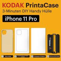 Für weitere Info hier klicken. Artikel: Kodak PPC-10 Printacase -f. iPhone 11PRO Kartusche f. 2x5 vorgestanzte Bilder iPhone 11 PRO