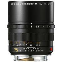 Für weitere Info hier klicken. Artikel: Leica 75mm f/2,0 APO-Summicron-M Asph. schwarz Leica M