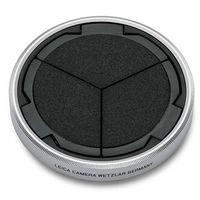 Leica Objektivdeckel für D-Lux 7 Schwarz/Silber
