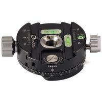 Leofoto PAN-02 Panning clamp + QP70 plate + Bag