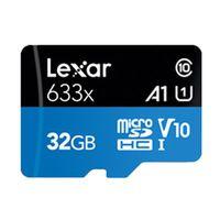 Für weitere Info hier klicken. Artikel: Lexar High Performance micro SDHC/SDXC 633x UHS-1, U1, V10, 95MB/s inkl. Adapter 32 GB
