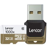 Für weitere Info hier klicken. Artikel: Lexar Professional micro SDHC/SDXC 1000x UHS-II, U3, V60, 150MB/s inkl. USB 3.0 Lesegerät 32 GB