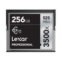 Lexar Professional CFast 3500x, 525MB/s 256 GB