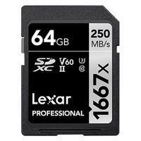 Für weitere Info hier klicken. Artikel: Lexar Professional SDXC-Card 1667x UHS-II, U3, V60, 250MB/s 64 GB