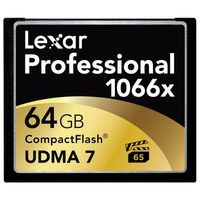 Lexar Professional CompactFlash 1066x UDMA7, 160MB/s 64 GB