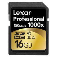 Für weitere Info hier klicken. Artikel: Lexar Professional UHS-II SD 1000x 16 GB
