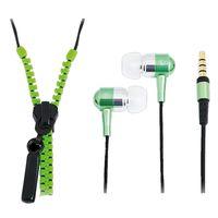 Für weitere Info hier klicken. Artikel: LogiLink Zipper Stereo In-ear Kopfhörer mit Reißverschluss grün