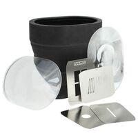 Für weitere Info hier klicken. Artikel: MagMod MagBeam Kit Lichtformer-Set für Aufsteckblitze inkl. 1 MagBeam-Blitzvorsatz, 2 Fresnel-Linsen und 1 Satz Gobo-Masken - MagGrip erforderlich!