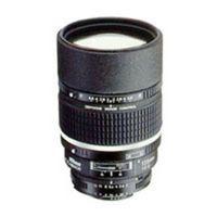 Für weitere Info hier klicken. Artikel: Nikon AF Nikkor 135mm f/2,0 D DC Nikon FX