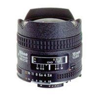Nikon AF Nikkor 16mm f/2,8 D Fisheye Nikon FX