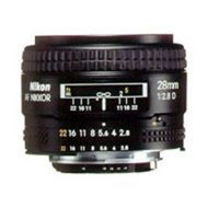 Nikon AF Nikkor 28mm f/2,8 D Nikon FX