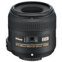 Nikon AF-S DX Nikkor 40mm f/2,8 Micro G Nikon DX