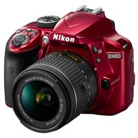 Für weitere Info hier klicken. Artikel: Nikon D3400, AF-P DX 3,5-5,6/18-55 G VR rot
