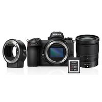 Nikon Z6 + Nikkor Z 24-70mm f/4,0 S + FTZ Objektivadapter + 64GB XQD Karte