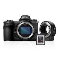 Nikon Z6 + FTZ Objektivadapter + 64GB XQD Karte