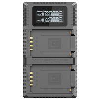 Für weitere Info hier klicken. Artikel: Nitecore USB-Ladegerät mit LCD-Display FX2PRO für Fujifilm NP-T125