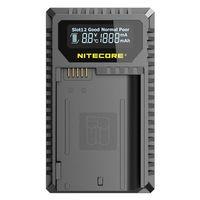 Nitecore USB-Ladegerät mit LCD-Display UNK2 für Nikon EN-EL15