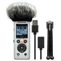 Für weitere Info hier klicken. Artikel: Olympus LS-P1 Podcaster Kit incl. Mini Stativ, Mikro Windschutz und USB Kabel