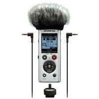 Für weitere Info hier klicken. Artikel: Olympus LS-P1 Videographer Kit inkl. Mikro Windschutz, Hot Shoe Adapter, 3.5mm Audio Kabel und 8 GB micro SD