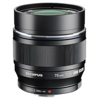Olympus M.Zuiko AF 75mm f/1,8 ED schwarz Micro Four Thirds
