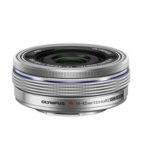 Olympus M.Zuiko AF 14-42mm f/3,5-5,6 EZ silber Micro Four Thirds