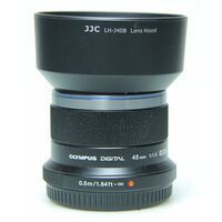 Für weitere Info hier klicken. Artikel: Olympus M.Zuiko AF 45mm f/1,8 Micro Four Thirds schwarz -Second Hand-