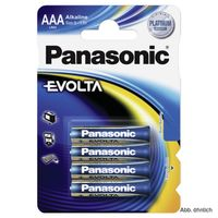 Panasonic Batterie Evolta Micro AAA 4er-Pack