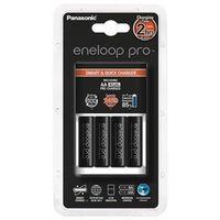 Panasonic Ladegerät inkl. Eneloop +4 Mignon (AA) Pro 2500mAh