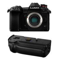Für weitere Info hier klicken. Artikel: Panasonic Lumix DC-G9 Gehäuse + Batteriegriff DMW-BGG9E