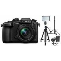 Für weitere Info hier klicken. Artikel: Panasonic Lumix DC-GH5 + AF 12-60mm G Vario Asph. OIS Vlogger Kit für Profis schwarz