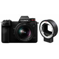 Für weitere Info hier klicken. Artikel: Panasonic Lumix DC-S1 + Lumix S 20-60mm f/3.5-5.6 + Sigma Mount Adapter MC-21