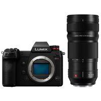 Für weitere Info hier klicken. Artikel: Panasonic Lumix DC-S1R Gehäuse + Lumix S Pro 70-200mm f/4,0 O.I.S.