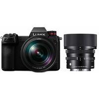 Für weitere Info hier klicken. Artikel: Panasonic Lumix DC-S1R + Lumix S 24-105mm f/4,0 Macro O.I.S. + Sigma AF 45mm f/2,8 DG DN C