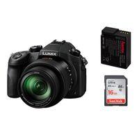 Für weitere Info hier klicken. Artikel: Panasonic Lumix DMC-FZ 1000 + Hama Akku DMW-BLC 12 + SanDisk SDHC Ultra Cl.10, UHS-I, 80MB/Sec 16 GB