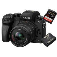 Für weitere Info hier klicken. Artikel: Panasonic Lumix DMC-G70 + AF X 14-42mm OIS Vario + Akku DMW-BLC 12 + 32GB Karte Micro Four Thirds schwarz