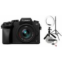 Für weitere Info hier klicken. Artikel: Panasonic Lumix DMC-G70 + AF 14-42mm OIS G-Vario Vlogger Kit schwarz für Anfänger