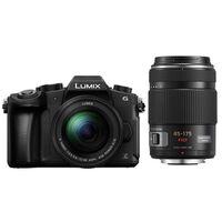 Für weitere Info hier klicken. Artikel: Panasonic Lumix DMC-G81 + 12-60mm f/3,5-5,6 G Vario Asph. OIS + AF X 45-175mm f/4,0-5,6 G OIS Vario asph.