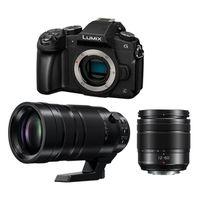 Für weitere Info hier klicken. Artikel: Panasonic Lumix DMC-G81, 3,5-5,6/12-60 OIS + Leica AF 100-400mm f/4,0-6,3 OIS DG Apsh. Micro Four Thirds