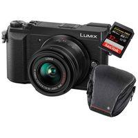 Für weitere Info hier klicken. Artikel: Panasonic Lumix DMC-GX80 + AF 14-42mm + Hama Sambia 80 Colt + 32 GB Karte Micro Four Thirds schwarz