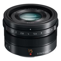 Panasonic Summilux AF 15mm f/1,7 Leica DG schwarz Micro Four Thirds