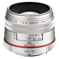 Für weitere Info hier klicken. Artikel: Pentax DA 35mm f/2,8 HD Makro Limited Pentax K silber