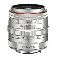 Für weitere Info hier klicken. Artikel: Pentax DA 20-40mm f/2,8-4,0 HD DC WR Pentax K silber