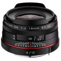 Für weitere Info hier klicken. Artikel: Pentax DA 15mm f/4,0 ED AL HD Limited Pentax K schwarz