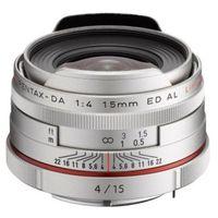 Für weitere Info hier klicken. Artikel: Pentax DA 15mm f/4,0 ED AL HD Limited Pentax K silber