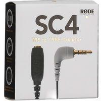 Für weitere Info hier klicken. Artikel: Rode SC4 Adapter 3,5mm TRS zu TRRS für smartLav