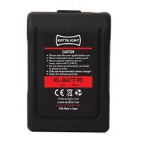 Für weitere Info hier klicken. Artikel: Rotolight 95 Wh V-Mount Lithium Ion Battery & D-Tap Charger - BUNDLE